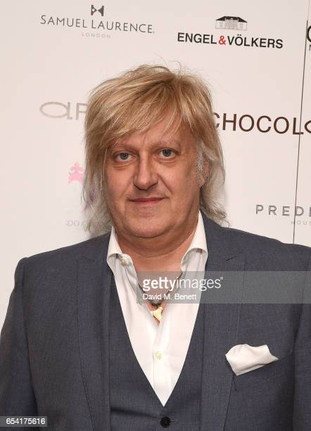 Chicco Merighi attends the ICONIC PR LND and PerrierJouët art presention of works by Picasso Miro Matisse Chagall at QP LDN on March 16 2017 in...