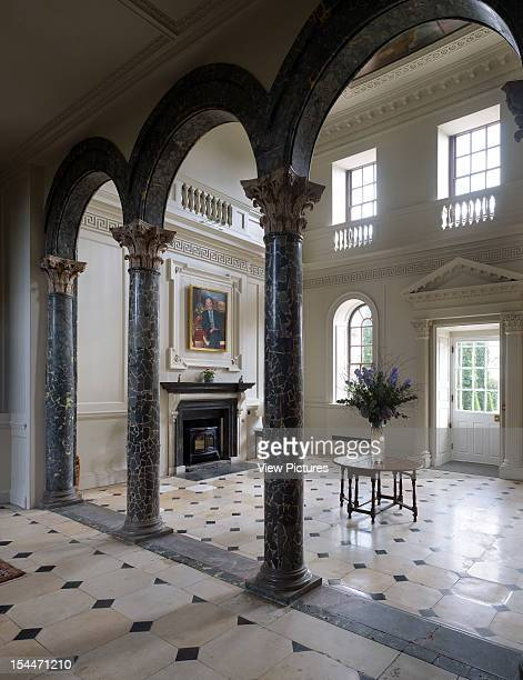Chicheley Hall Kavli Royal Society Burrell Foley Fischer North Buckinghamshire United Kingdom View Of Baroque Entrance Hall Burrell Foley Fischer...