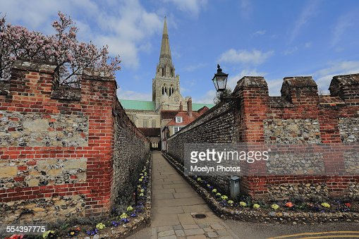 Chichester Cathedral and Path