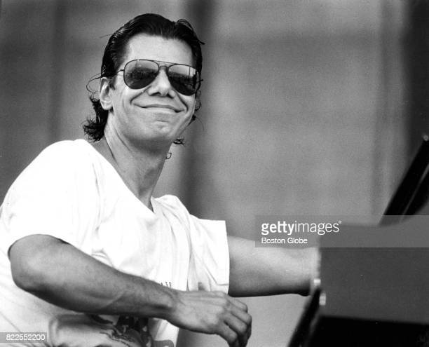 Chick Corea performs at the Newport Jazz Festival in Newport RI on Aug 13 1988