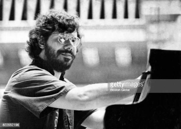 Chick Corea performs during the Boston Globe Jazz Festival at Symphony Hall in Boston on Mar 15 1981
