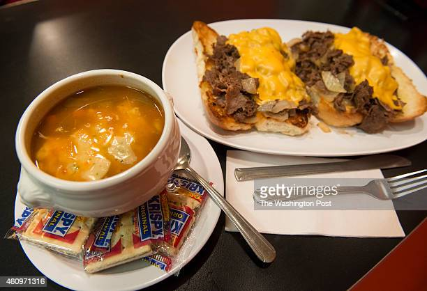 Chick Ruth's Delly will soon offer a soup and sandwich in honor of Maryland GovernorElect Larry Hogan in Annapolis MD on December 30 2014 Delly owner...