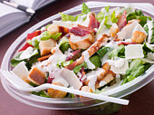 Chicken And Bacon Caeser Salad