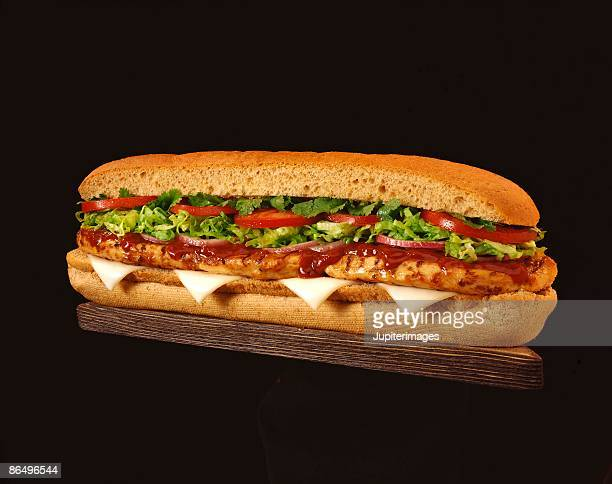 Chicken barbecue sandwich