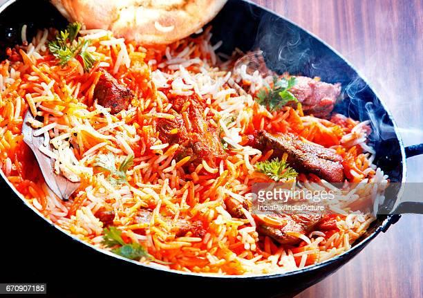 chicken biryani , indian food