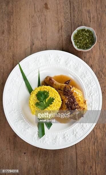 Chicken Biryani thai style