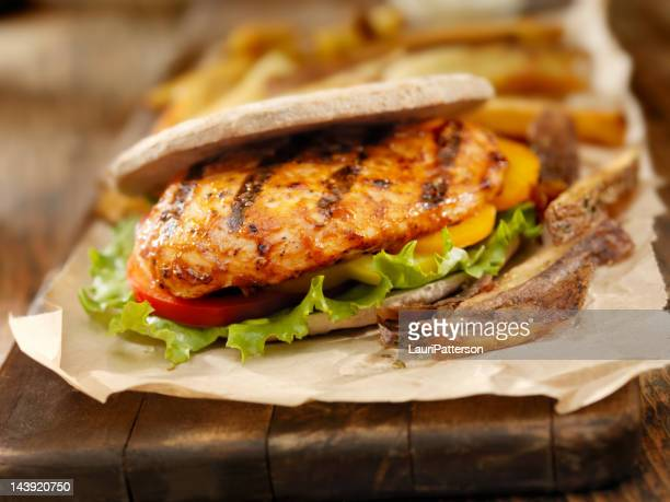 BBQ Chicken Breast Burger