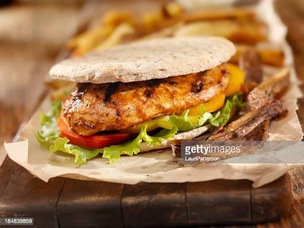 BBQ Chicken Breast Burger