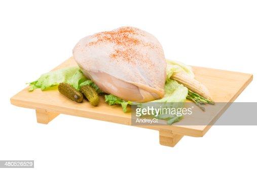 Petto di pollo : Foto stock