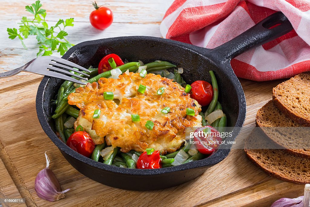 Chicken bteast. cheese and onion ground  patties : Stock Photo
