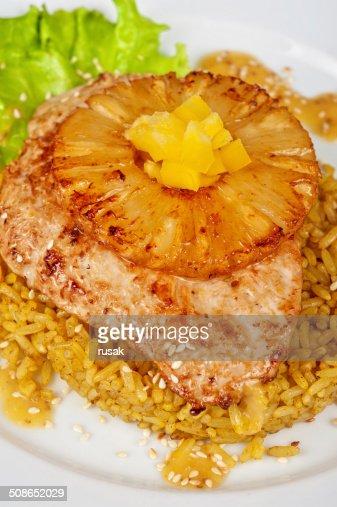 Chicken chop : Stock Photo