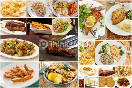 Collage de pollo foto de stock thinkstock for Menu de comida francesa