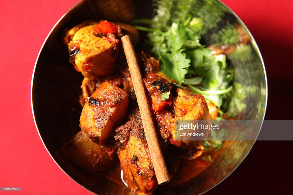 Chicken Curry for 1 : Stock Photo