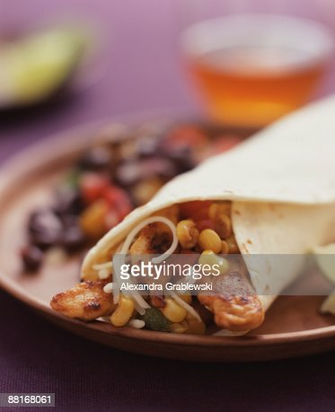 Chicken fajita : Stock Photo