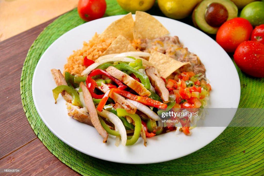 Chicken Fajitas : Stock Photo