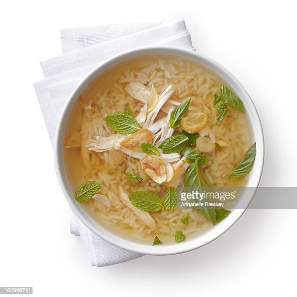 Chicken Herb and Rice Soup