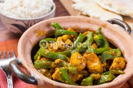 Chicken Jalfrezi Curry Stock Photo Thinkstock