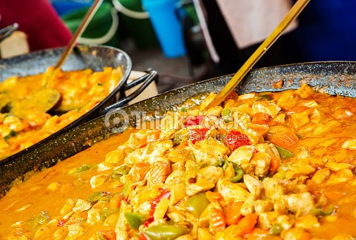 Chicken Korma A Popular Sweet Indian Curry Dish Of Coconut And Cream