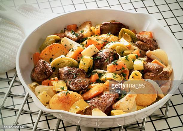 Chicken Liver Pan with Vegetables