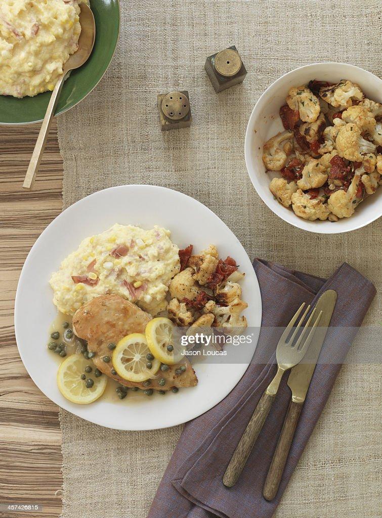 Chicken Meals : Stock Photo