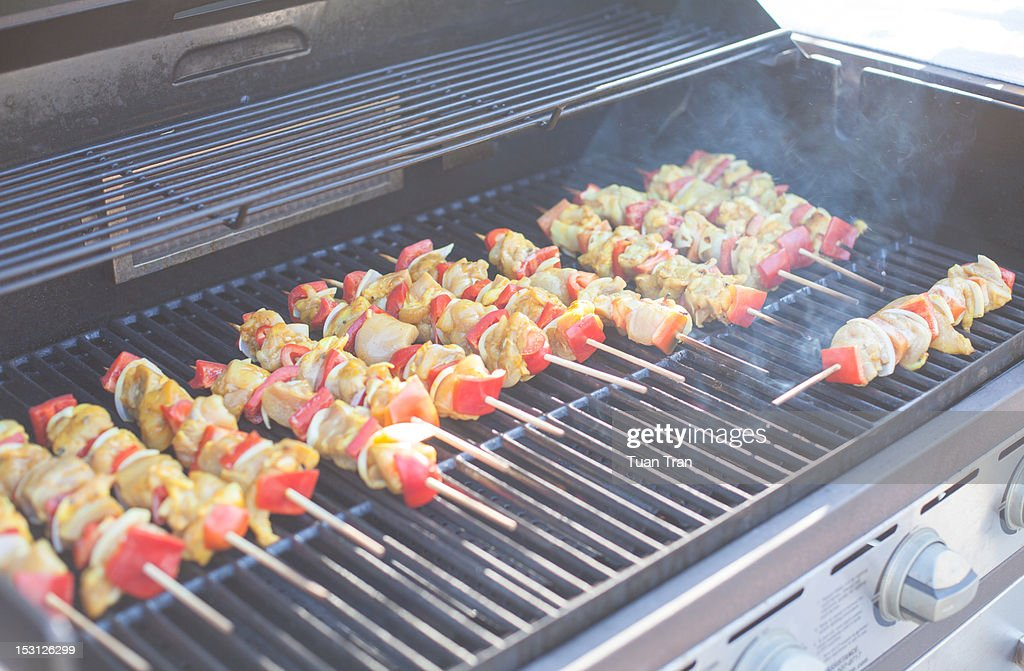 Chicken meat and vegetables : Stock Photo