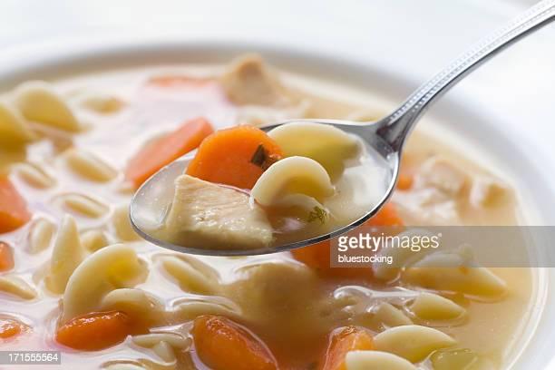 チキンラーメンスープ