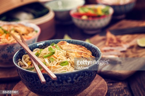 Ramen noodles stock fotos und bilder getty images for Asian cuisine mohegan lake ny