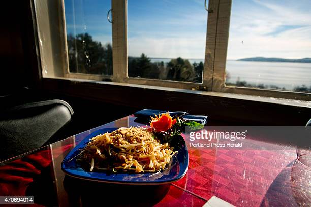 Chicken Pad Thai is one of the dishes offered with a view at Seng Thai in Belfast photographed Friday December 5 2014