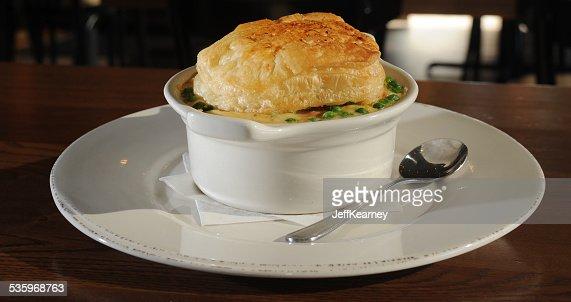 Chicken Pot Pie Beginning : Stock Photo