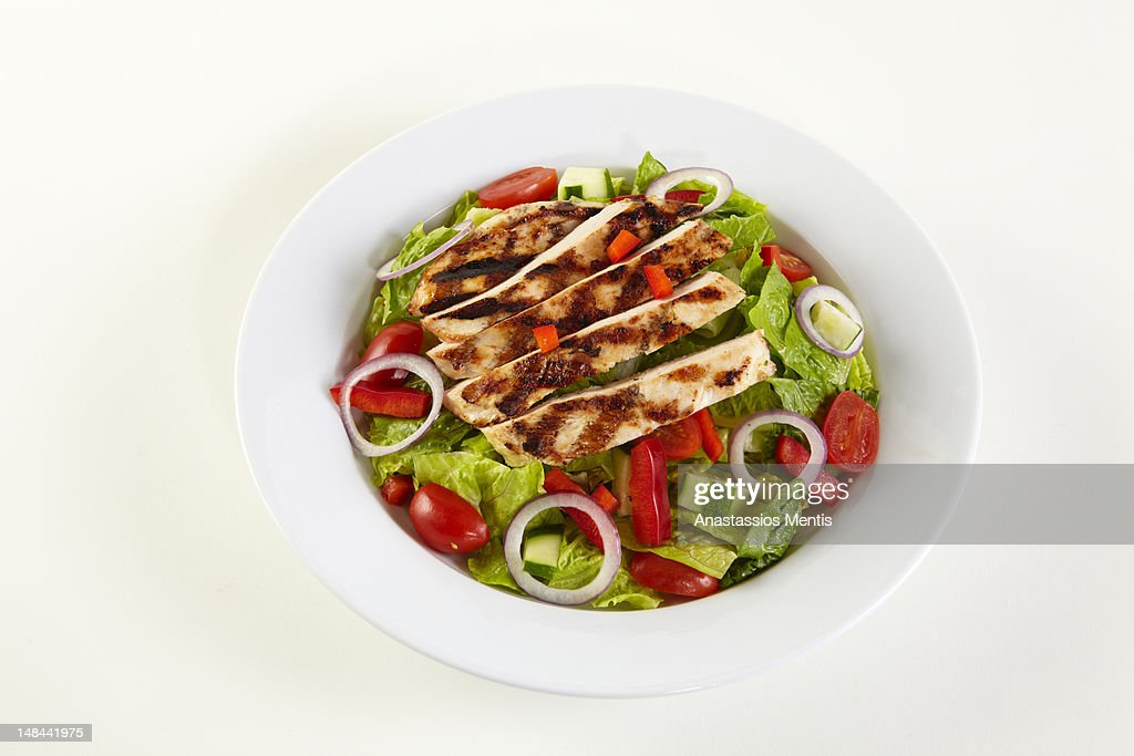 chicken salad : Stock Photo