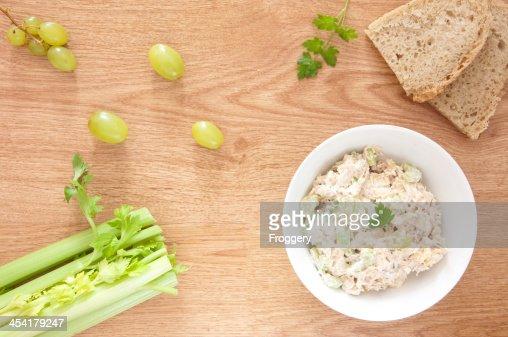 Chicken-Salat : Stock-Foto