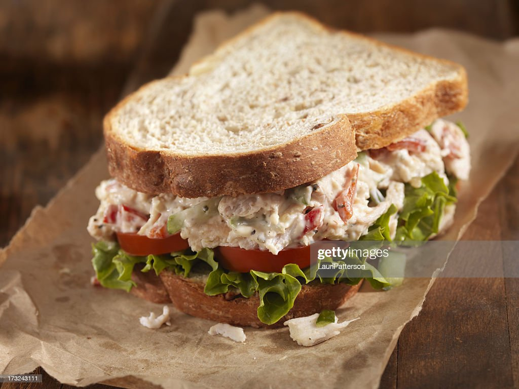 Chicken Salad Sandwich : Stock Photo