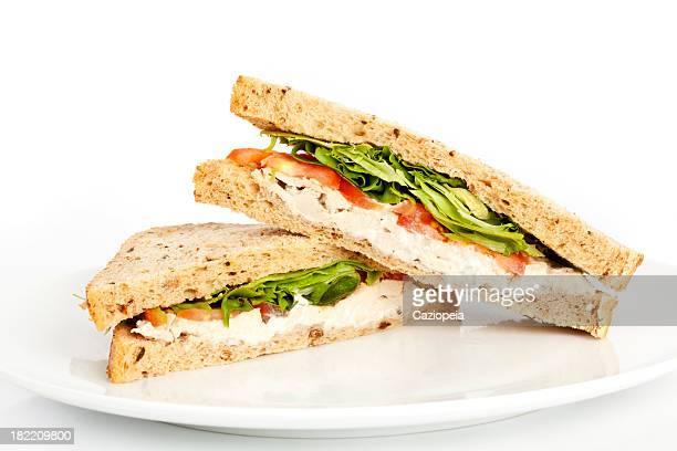 チキンサラダサンドイッチ