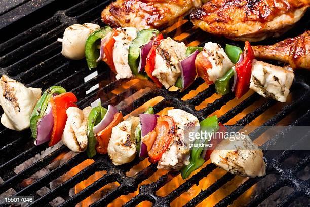 Shish Kebabs au poulet