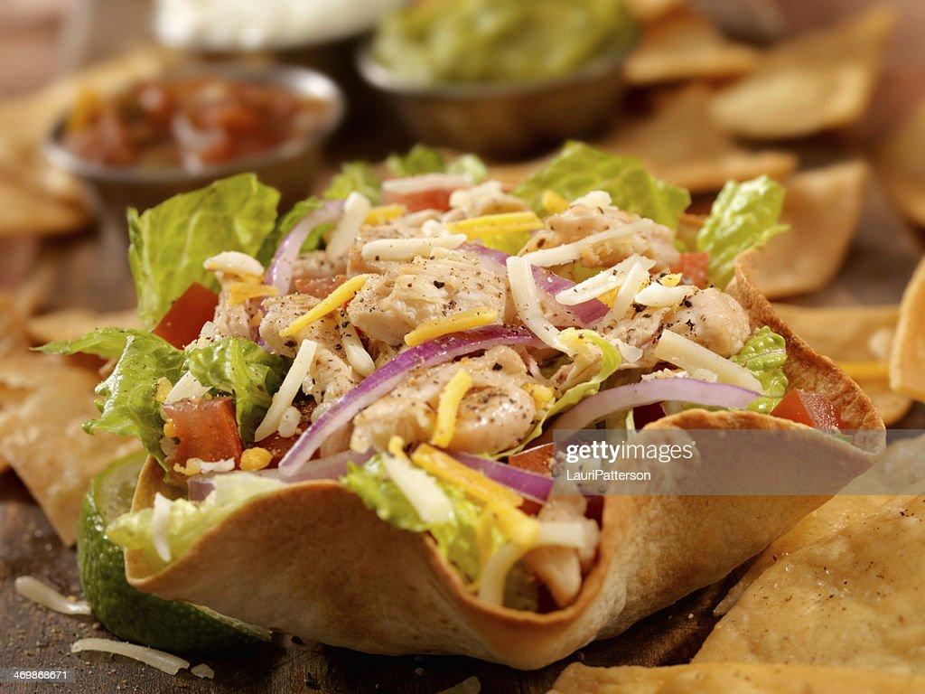 Chicken Taco Salad : Stock Photo