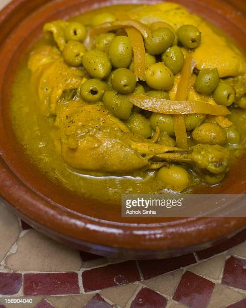 Chicken tagine - a Moroccan culinary specialty