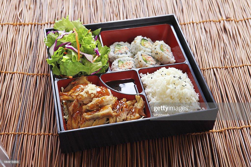 Chicken Teriyaki & California Rolls