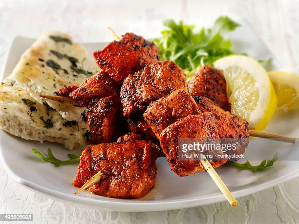 Chicken Tikka with naan bread