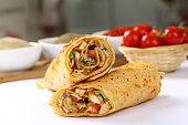 Doner Kebab, Kebab, Wrap Sandwich, Meat, Sandwich