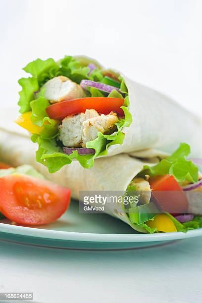 Chicken Wrap Sandwich