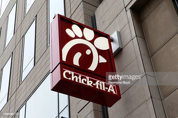 ChickfilA restaurant in Chicago Illinois on JANUARY 12 2013
