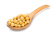 Natural chickpeas, vegetarian food
