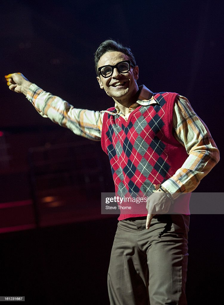 Chico performs on stage as part of Boogie Nights at Symphony Hall on February 9, 2013 in Birmingham, England.
