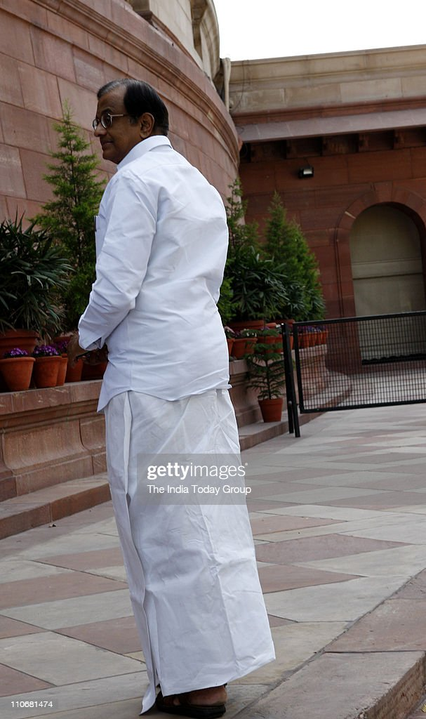 P Chidambaram at Parliament on Tuesday, March 22. 2011.