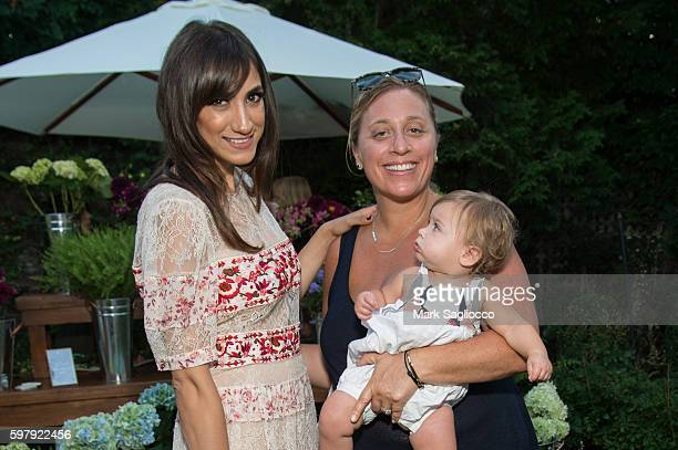 Chief Brand Officer Mandana Dayani and Shadow PR CoOwner Lisette Freeman attend the Ashley And Jeff McDermott host an intimate Hamptons party for...