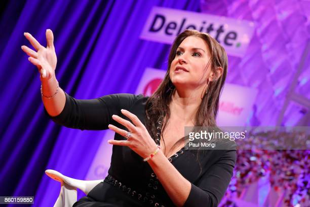 Chief Brand Officer Stephanie McMahon speaks onstage at the Fortune Most Powerful Women Summit Day 3 on October 11 2017 in Washington DC