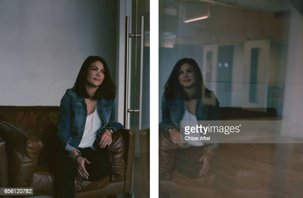 Chief Business Affairs and Legal Officer for Air BnB Belinda Johnson is photographed for Fast Company Magazine on September 22 2015 in San Francisco...