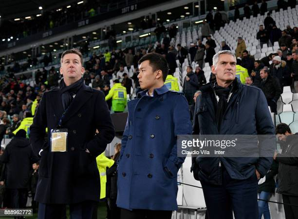 Chief Communications Officer FC Internazionale Robert Faulkner FC Internazionale Milano board member Steven Zhang Kangyang and CEO FC Internazionale...
