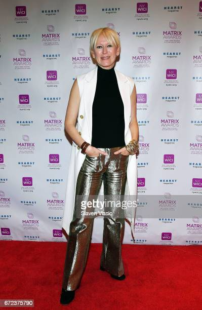 Chief Content Officer for Hearst Magazines Joanna Coles attends 2017 Matrix Awards at Sheraton New York Times Square on April 24 2017 in New York City