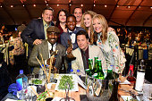 Chief Content Officer for Netflix Ted Sarandos actor Idris Elba winner of Best Supporting actor for 'Beasts of No Nation' producer Amy Kaufman actor...